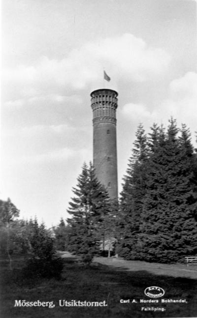 Utsiktstornet på Mösseberg, Falköping.