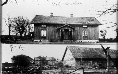 Sörgården Gökhem 1925, äg. Ivar Johansson.