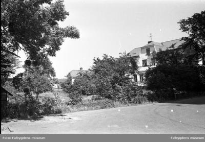 Gamla stan 1:6 SV.  Huset rivet 1986.  Översikt.