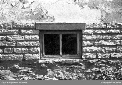 Gamla stan 1:6 NÖ. Huset rivet 1986. Detalj.