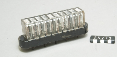 Batteri, för radio