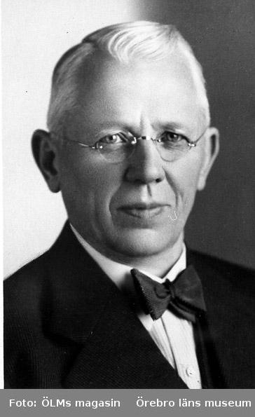Grosshandlare August Heribert Israelsson (1876 -1968) i 50 års åldern.