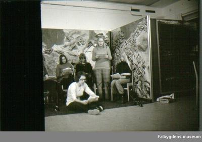 Falbygdens museum, Miljögruppen på Kyrkerörsskolan framför pjäsen