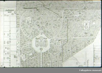 Karta: Mössebergs sanatorium, plan.