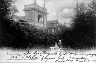 Mössebergs kurort, Bredablick fungerade först som sanatorium och därefter som en omtyckt servering.