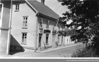 Apotek i Gränna på 1940-talet.