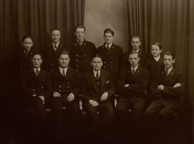 Telegrampersonal i Norrköping 1930.