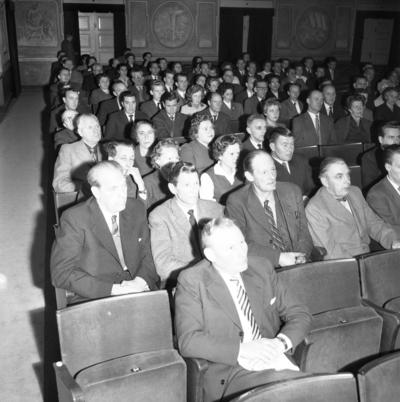 Metalls trivselmöte. 31 oktober 1958.