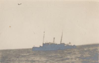 Kanonbåten Svensksund.