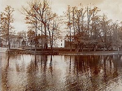 Barkenlund, parken vid ån. Arkitekt Arn