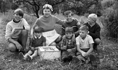Finsk familj utan bostad, 15 augusti 1967