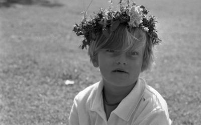 Parkudden, 10 juli 1967  Parkuddens dagkoloni i Stora Mellösa - ett paradis för sommarfria örebrobarn.