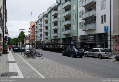 Kungsgatan och Örebro saluhall.