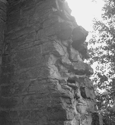 Riseberga klosterruin. 18 juli 1939.