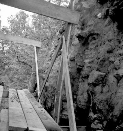 Riseberga klosterruin. 22 juli 1939.