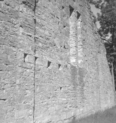 Riseberga klosterruin. 2 juli 1942.