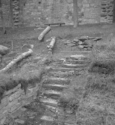 Riseberga klosterruin. 28 september 1942.