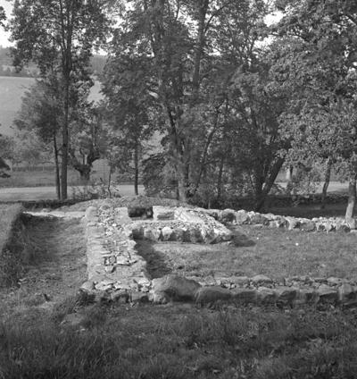 Riseberga klosterruin. 14 september 1943.