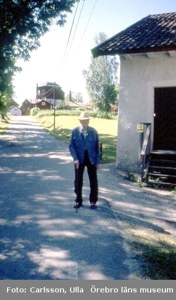 Intervju med f.d. masmästaren Selim Bivall.