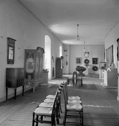 Örebro läns museum, 50-årsutställningen.                                                                                                            30 augusti 1937.