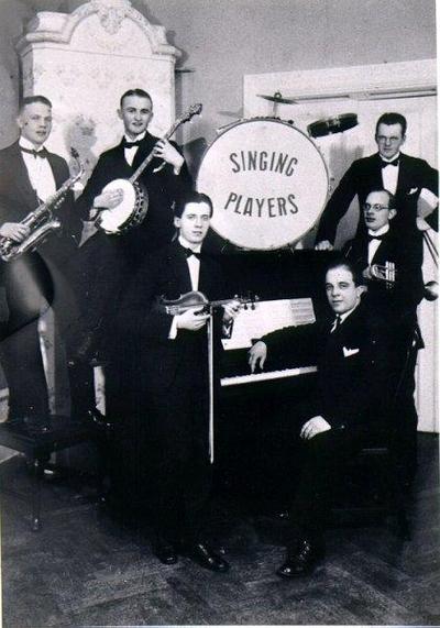 Dansband. Falköpingsorkestern