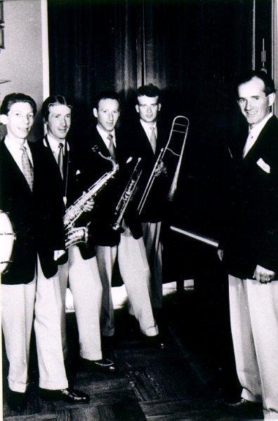Dansband. Anders Heribertz orkester.