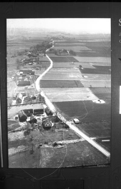 Flygfoto över Karleby.