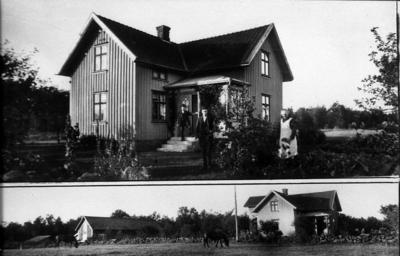 Klas Håkansson med fru och son.