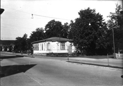 Missionskapellet, ungefär där Centralhallen (numera Supermarket) senare byggdes.