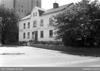 Gamla stan 1:6 NÖ. Huset rivet 1986.