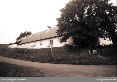 Rantens gård, fotografering i samband med rivningen september 1987.