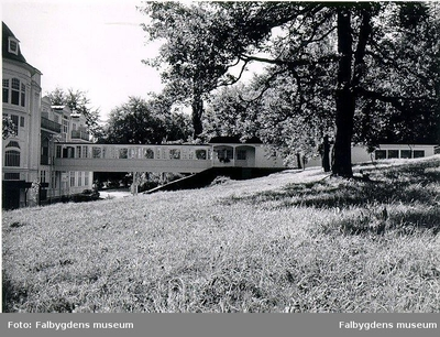 Tillbyggnad 1976 till den s.k.