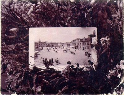Stora torget år 1898.