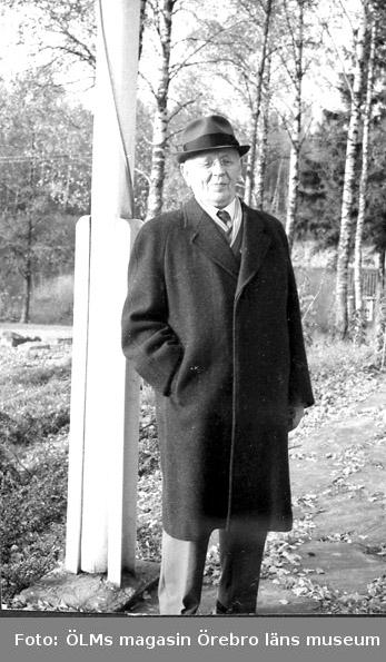 August Heribert Israelsson, grosshandlare, 1876 -1968, Choise Örebro.