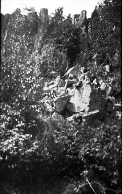Mössebergs diabasbranter (bullern). Mössebergs kurort