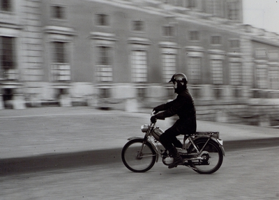 Stockholm. Telegrambärare, ( omkring 1960-talet).