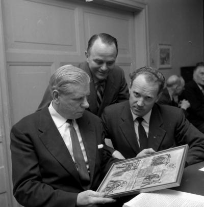 Metalls avdelning 21, årsmöte. 27 februari 1959.