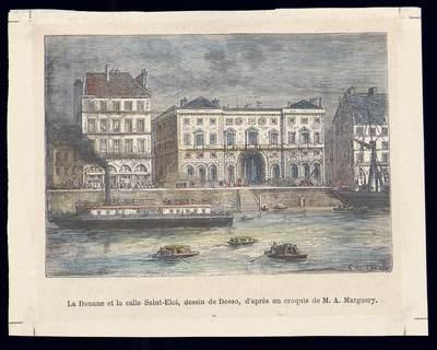 La Douane et la calle Saint Éloi