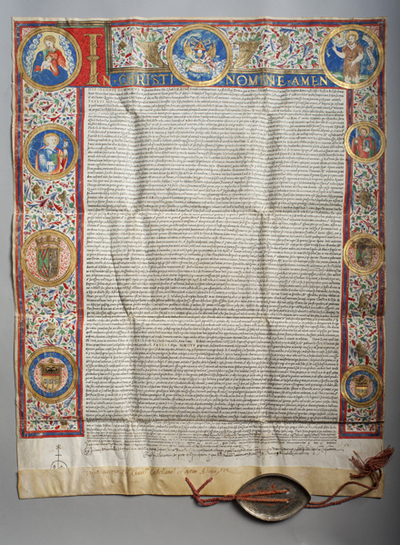 Bula del Papa Paulo III sobre la Eucaristía