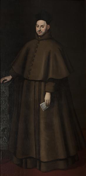 Retrato de Fray Pedro González de Mendoza, hijo de la Princesa de Éboli