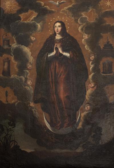 Inmaculada del retablo del Colegio de pueri cantores