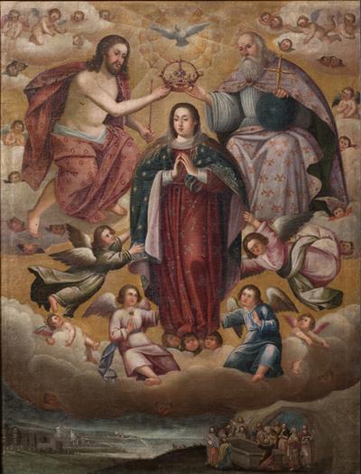 Dormición, Asuanción y Coronación de la Stama, la Virgen