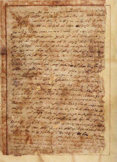 Carta nº 7 de S. Juan de la Cruz desde Málaga a las monjas de Beas de Segura.