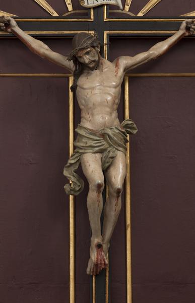 Talla del Stamo. Cristo de los Milagros. S.XVII