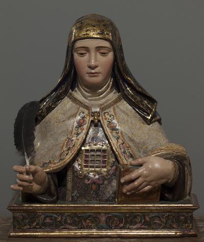 Busto relicario de Sta. Teresa