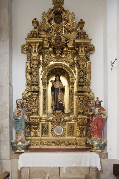 Retablo de Sta. Teresa.