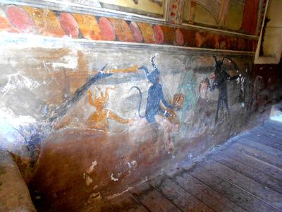 Mur Nord, registre inférieur