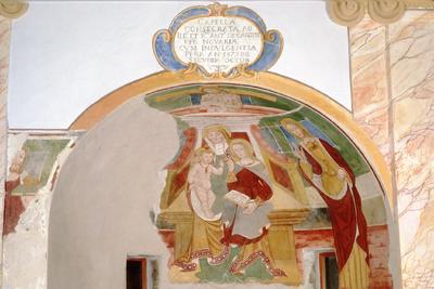 Ancienne chapelle, paroi sud