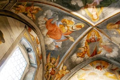 Voûte abside nord, côté nord