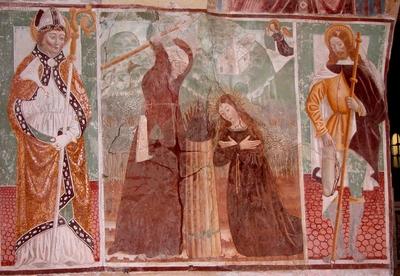S. Blaise, Martyre de Panacea, S. Roch